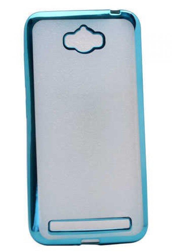Asus Zenfone Max ZC550KL Kılıf Zore Lazer Kaplama Silikon