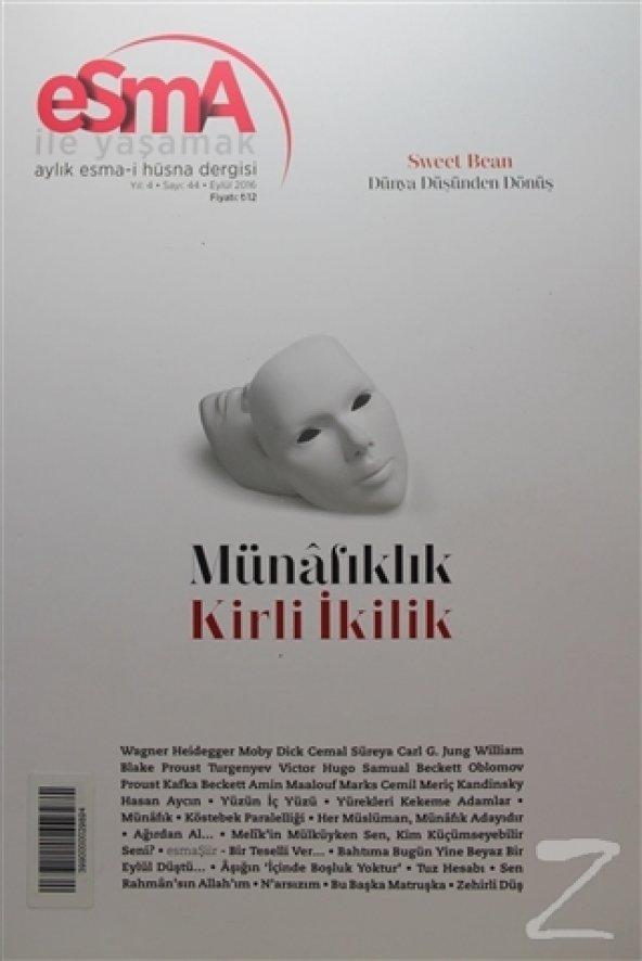 Esma-i Hüsna Dergisi Yıl: 4 Sayı: 44 Eylül 2016/Kolektif