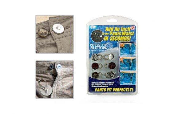 Button Extenders Genişletici Metal Düğme Seti