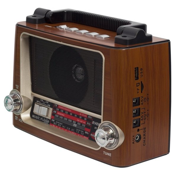 Everton RT-855 USB-SD-FM Işıklı Nostaljik Radyo