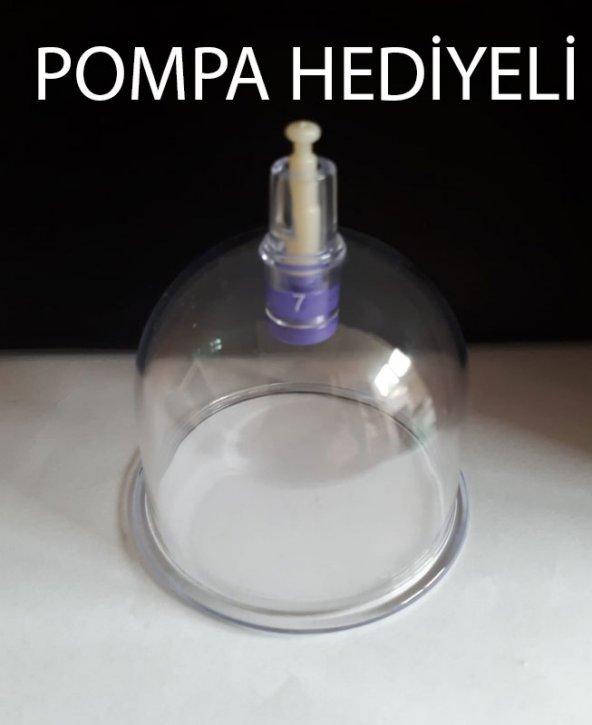 Hacamat Kupası 7 Cm 100 Adet Paket POMPA HEDİYELİ