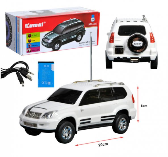 Kamal KM-995 Radyo Şarşlı FM/USB/SD Araba Tasarımlı