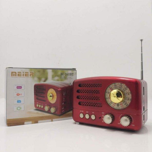 MEIER M-160BT BLUETOOTH FM/AM/SW 3BAND USB/TF/ RADYO