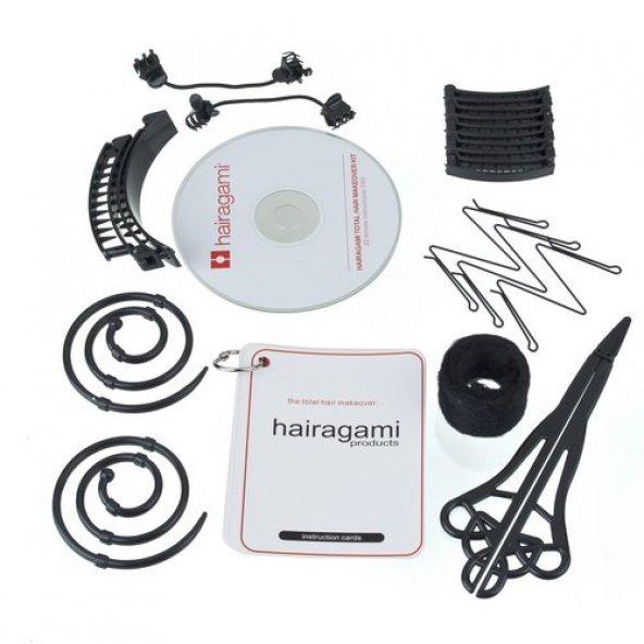 Saç Tasarım Seti - The Total Hair Makeover Kit Hairagami
