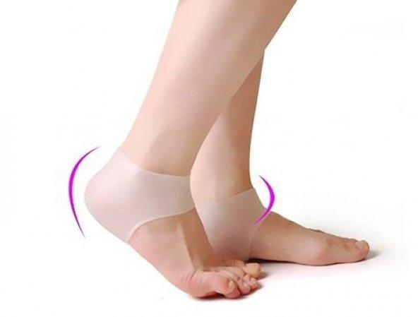 Silikon Topuk Çorabı