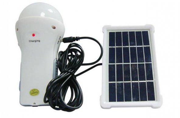 Watton WT-200 Güneş Panelli Şarjlı El ve Kamp Lambası
