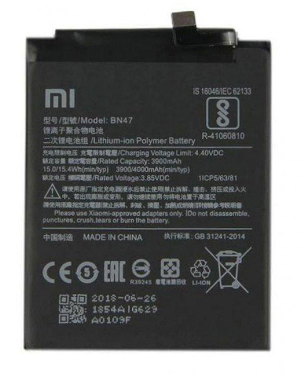 Xiaomi Mi A2 Batarya Pil