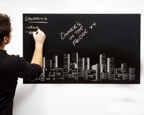 Yapışkanlı Kara Tahta Sticker Blackboard