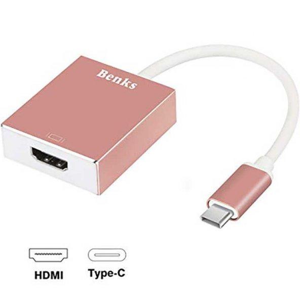 Benks Usb 3.1 Type-C to HDMI Adapter