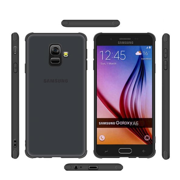 Galaxy A6 2018 Kılıf Zore Odyo Silikon