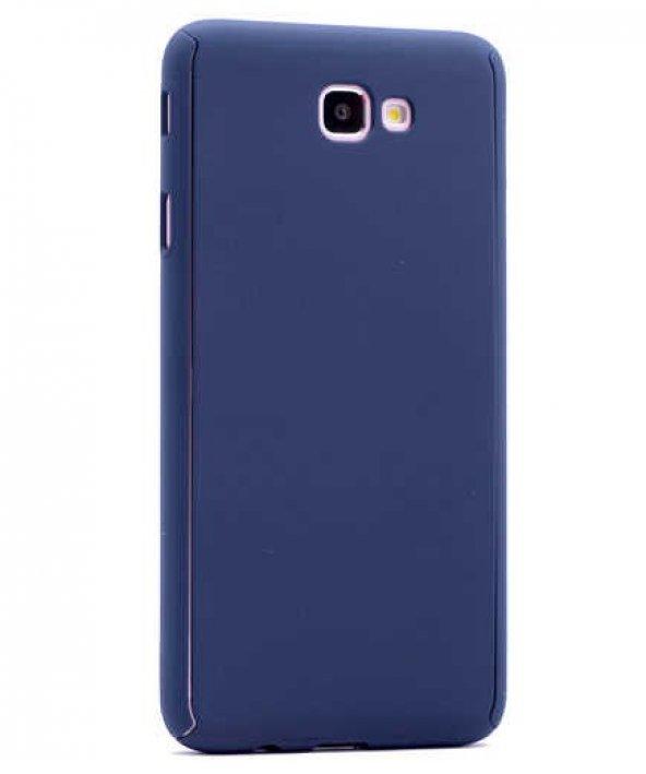 Galaxy A7 2017 Kılıf Zore 360 3 Parçalı Rubber Koruma