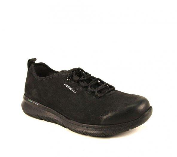 Forelli 45925-G Erkek Günlük Siyah Nubuk Ayakkabı