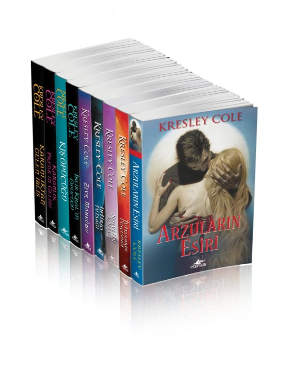 Kresley Cole Kitapları Takım Seti (9 Kitap)