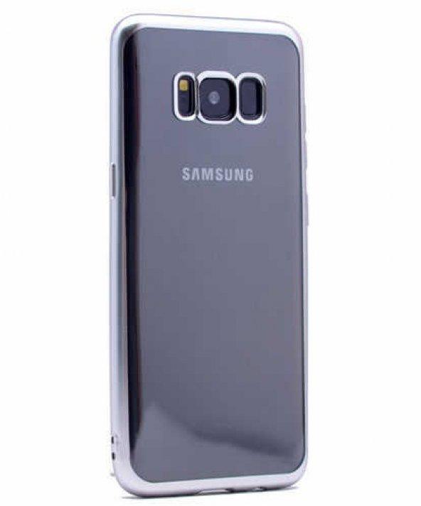 Galaxy S8 Kılıf Zore Lazer Kaplama Silikon