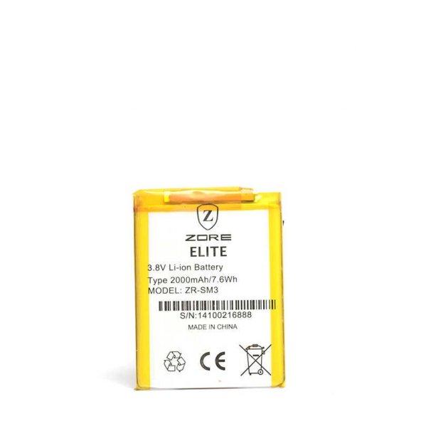 General Mobile Discovery Elite E7 Zore Tam Orjinal Batarya