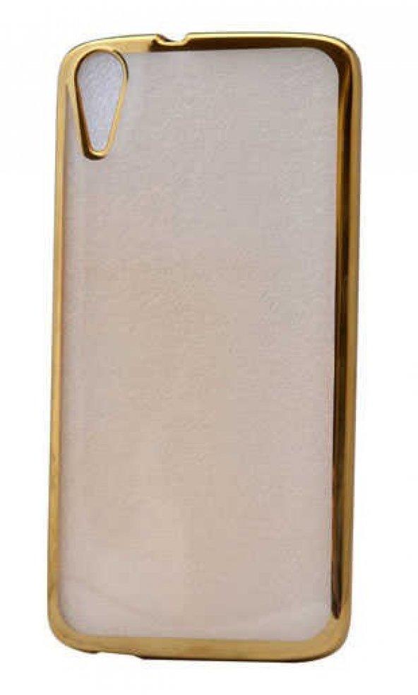 HTC Desire 828 Kılıf Zore Lazer Kaplama Silikon