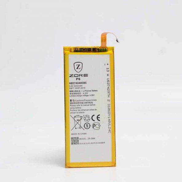 Huawei Ascend P6 Zore Tam Orjinal Batarya