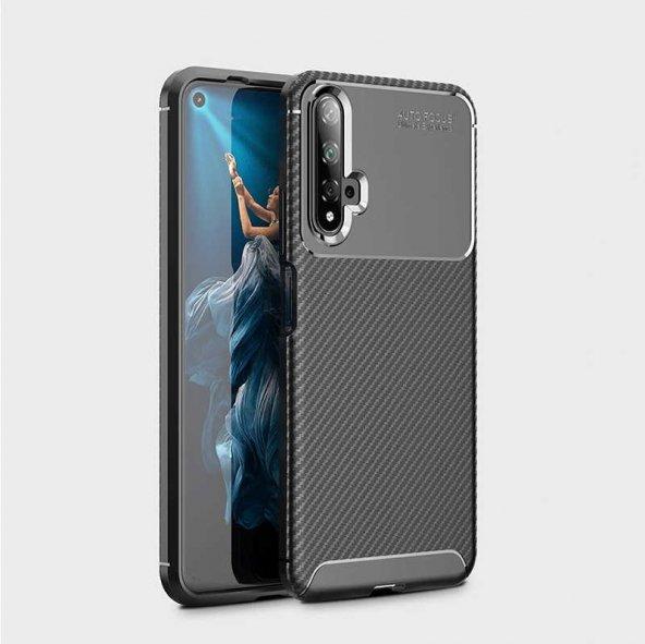 Huawei Honor 20 Kılıf Zore Negro Silikon