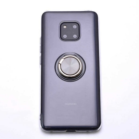Huawei Mate 20 Pro Kılıf Zore Les Silikon