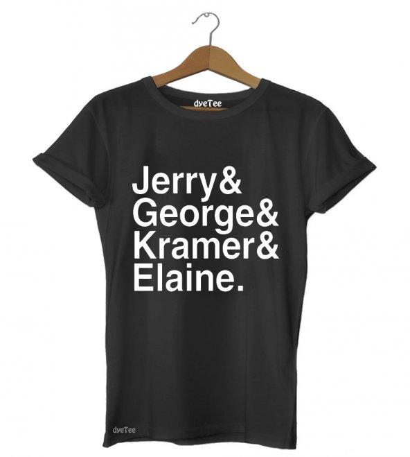 Seinfeld Jetset Erkek Tişört - Dyetee