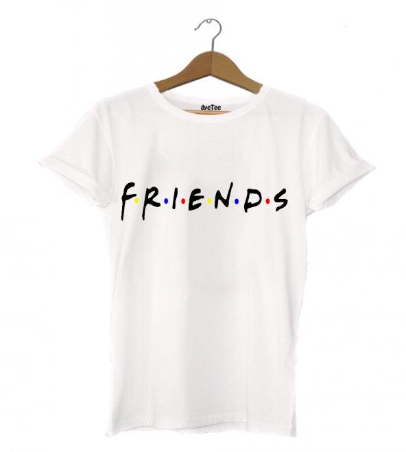 Friends Erkek Tişört - Dyetee