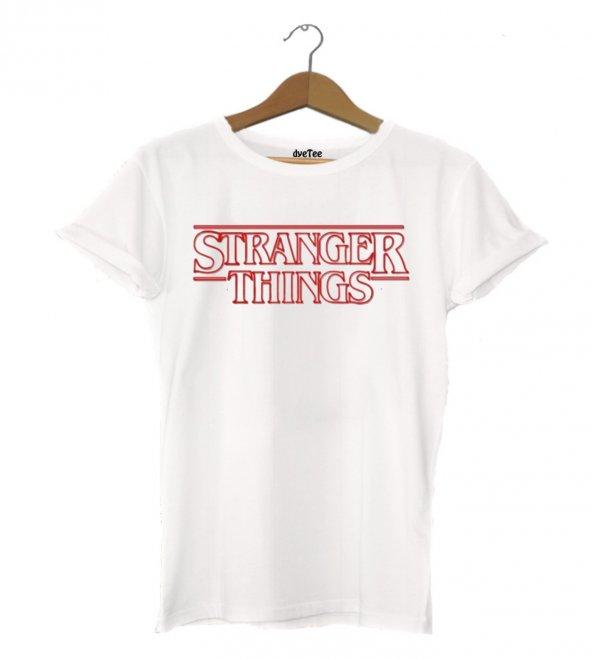 Stranger Things Klasik Erkek Tişört - Dyetee