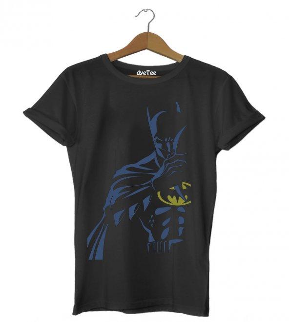 Batman koyu mavi gece Erkek Tişört - Dyetee