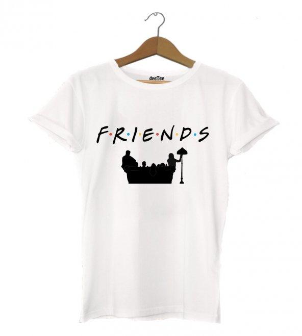 Friends Koltuk Erkek Tişört - Dyetee