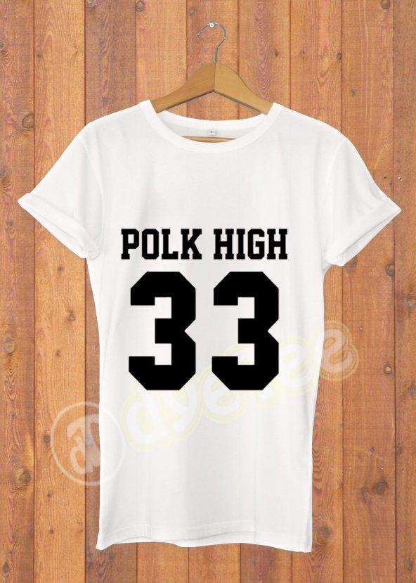 Polk High Kadın Tişört - Dyetee