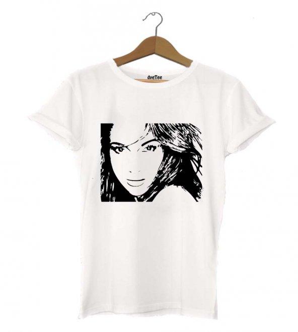 Jennifer Lopez Kadın Tişört - Dyetee