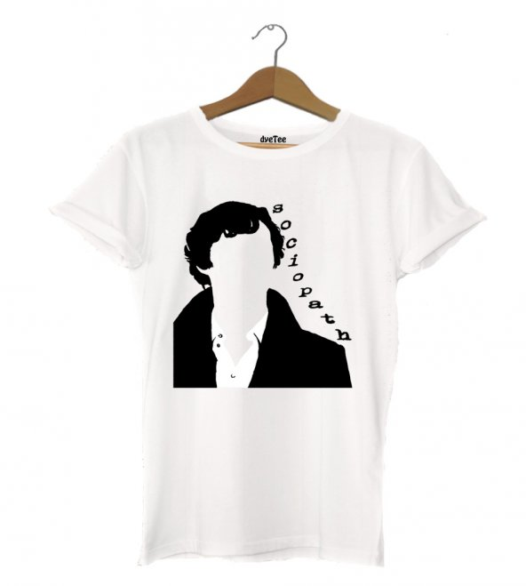 Sherlock Sosyopat Kadın Tişört - Dyetee