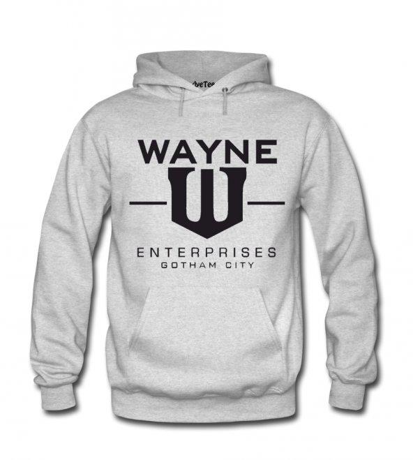 Batman Wayne Enterprises Erkek Sweatshirt ve Kapüşonlu - Dyetee