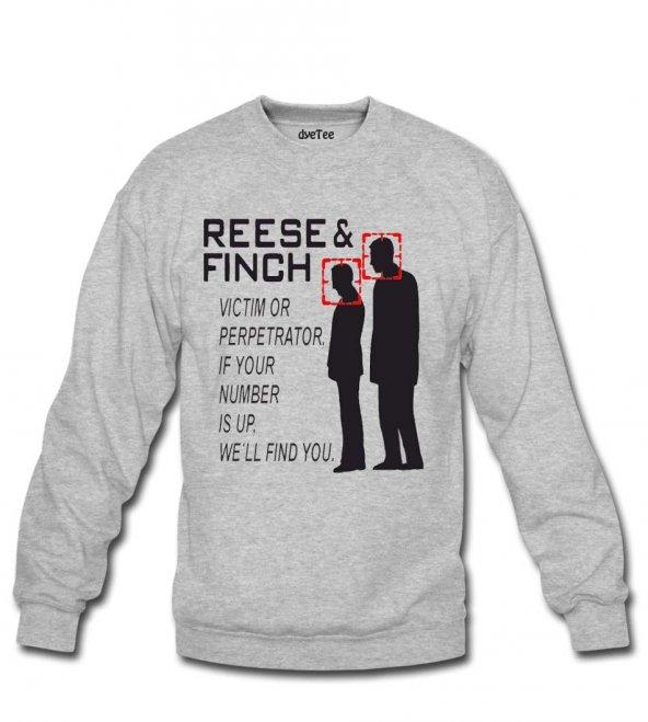 Person Of Interest Erkek Sweatshirt ve Kapüşonlu - Dyetee