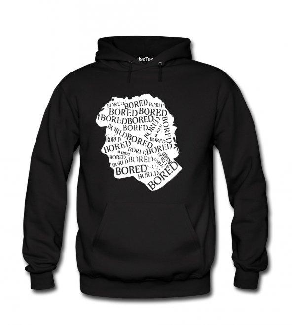 Sherlock Bored Erkek Sweatshirt ve Kapüşonlu - Dyetee