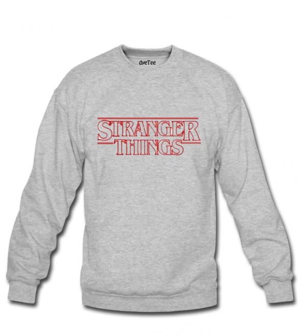 Stranger Things Klasik Erkek Sweatshirt ve Kapüşonlu - Dyetee