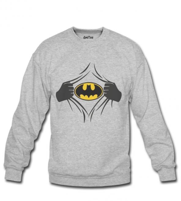 Batman 2018 Erkek Sweatshirt ve Kapüşonlu - Dyetee