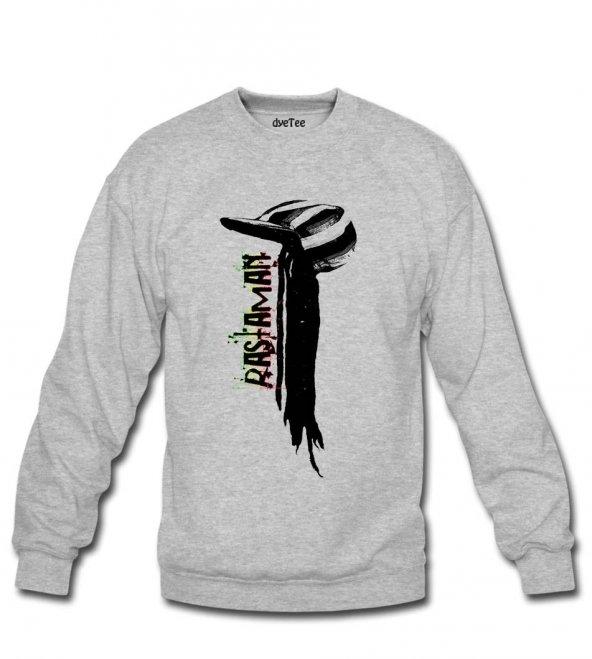 Rastafari Kadın Sweatshirt ve Kapüşonlu - Dyetee