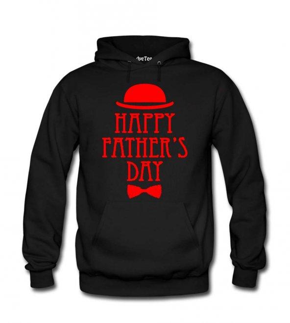 Happy Father s Day Kadın Sweatshirt ve Kapüşonlu - Dyetee
