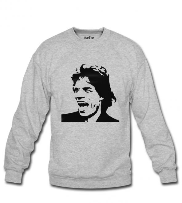Mick Jagger Kadın Sweatshirt ve Kapüşonlu - Dyetee