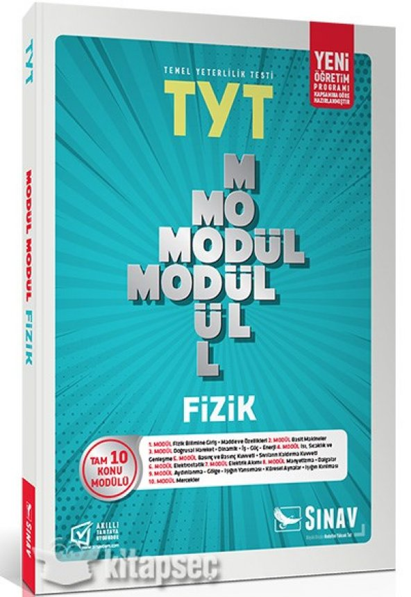TYT Fizik Modül Modül Konu Anlatımlı Sınav Dergisi Yayınları