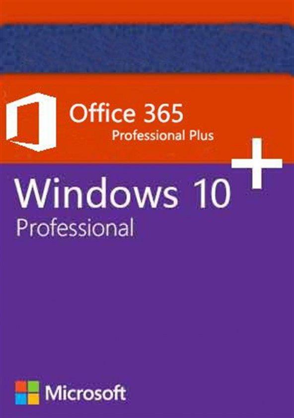 Microsoft Windows 10 Pro + Ofiice 365 Pro Plus 5 PC Mail Hesabı