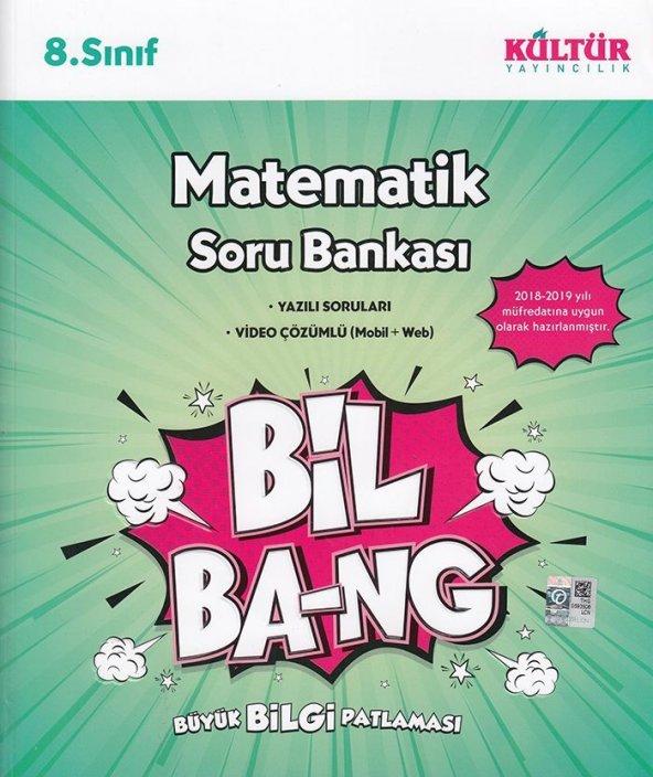 KÜLTÜR 8.SINIF MATEMATİK BİL BANG SORU BANKASI (2020)