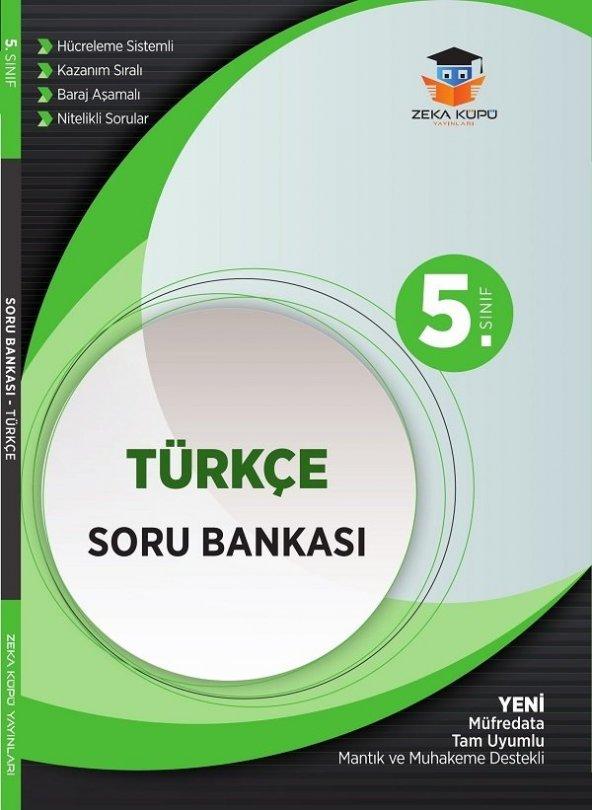 ZEKA KÜPÜ 5.SINIF TÜRKÇE SORU BANKASI (YENİ)