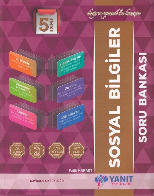 YANIT 5.SINIF SOSYAL BİLGİLER SORU BANKASI (2020)
