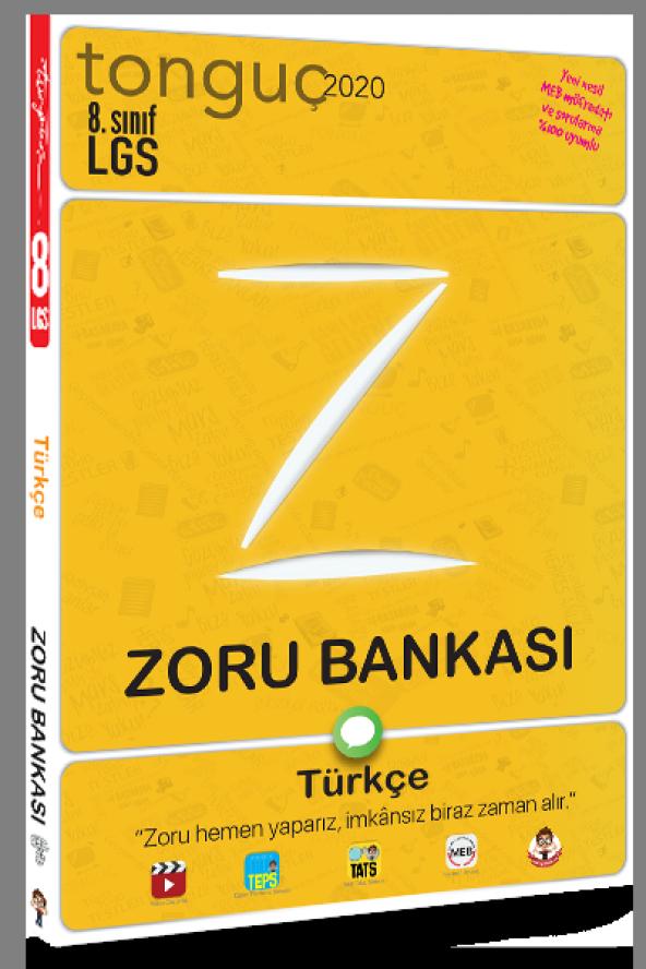 TONGUÇ 8.SINIF TÜRKÇE ZORU BANKASI (2020)