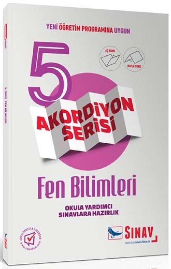 SINAV 5.SINIF FEN BİLİMLERİ AKORDİYON (YENİ)