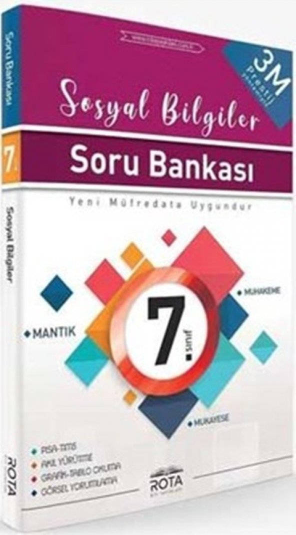 ROTA 7.SINIF SOSYAL BİLGİLER PRESTİJ SORU BANKASI (2020)