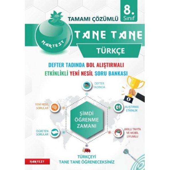 NARTEST 8.SINIF DEFTER TADINDA TANE TANE TÜRKÇE (2020)