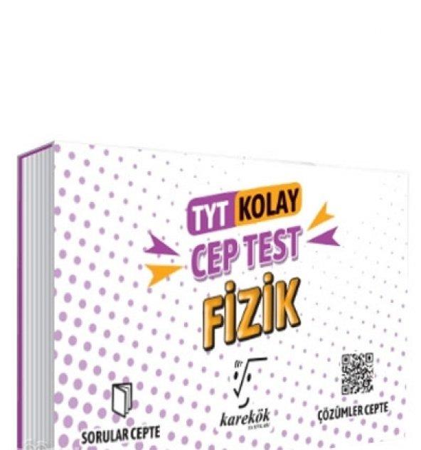 KAREKÖK TYT FİZİK CEP TEST KOLAY (2020)