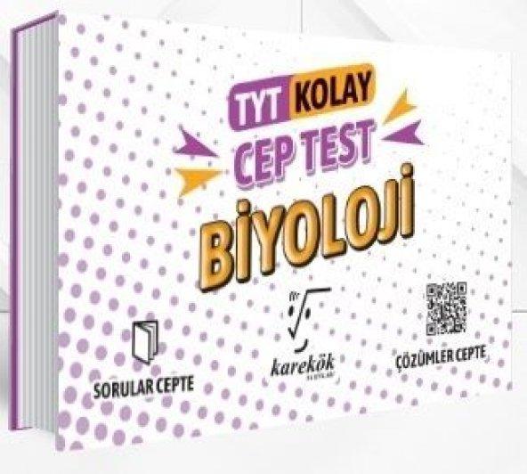 KAREKÖK TYT BİYOLOJİ CEP TEST KOLAY (2020)